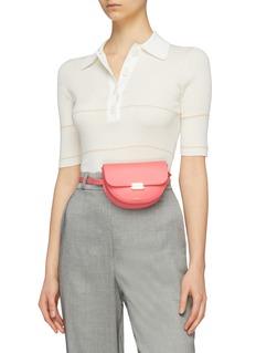 Wandler 'Anna' leather buckled bum bag