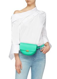 Wandler 'Anna' big leather buckled bum bag