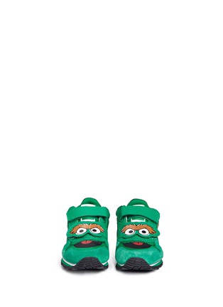 Figure View - Click To Enlarge - Puma - 'Sesame Street® Oscar' suede toddler runner sneakers