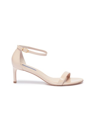 422fc2b2b23d Stuart Weitzman.  Nunakedstraight  patent leather ankle strap sandals