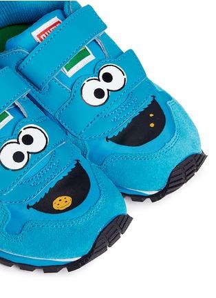Detail View - Click To Enlarge - Puma - 'Sesame Street® Cookie Monster' suede toddler runner sneakers