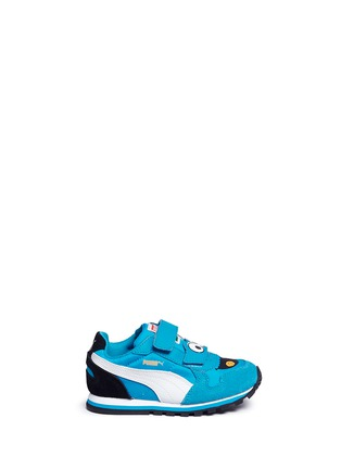 Main View - Click To Enlarge - Puma - 'Sesame Street® Cookie Monster' suede toddler runner sneakers