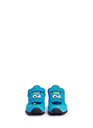 Figure View - Click To Enlarge - Puma - 'Sesame Street® Cookie Monster' suede toddler runner sneakers