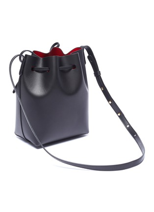 Detail View - Click To Enlarge - MANSUR GAVRIEL - 'Mini' leather bucket bag