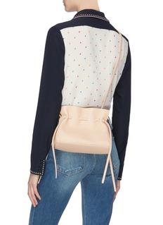 Mansur Gavriel 'Protea' mini ruched leather drawstring crossbody bag