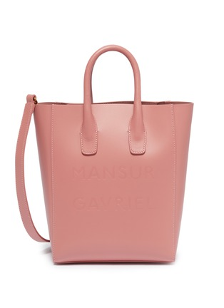 Main View - Click To Enlarge - Mansur Gavriel - 'NS' mini leather tote