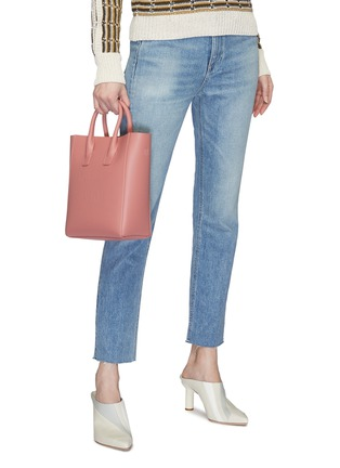 Figure View - Click To Enlarge - Mansur Gavriel - 'NS' mini leather tote