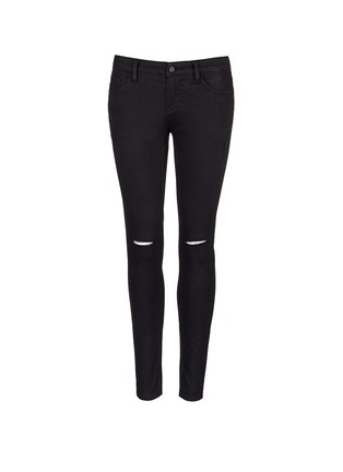 Main View - Click To Enlarge - Mo&Co. - Ripped knee skinny jeans