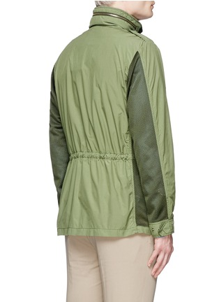 Back View - Click To Enlarge - ASPESI - Mesh front M65 field jacket