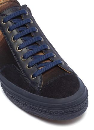 Detail View - Click To Enlarge - DRIES VAN NOTEN - x Verner Panton 'Swirl' wave print canvas sneakers