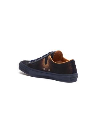 - DRIES VAN NOTEN - x Verner Panton 'Swirl' wave print canvas sneakers