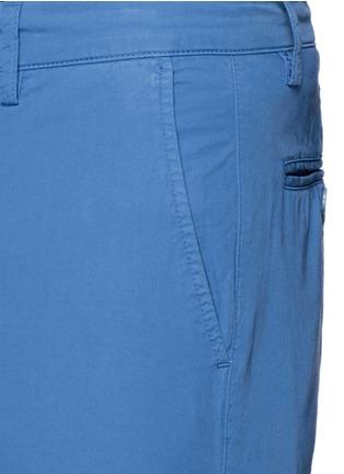 Detail View - Click To Enlarge - ASPESI - Cotton twill Bermuda shorts