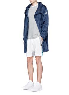 Adidas X Kolor 'Hybrid' Climachill® jersey shorts