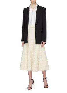 Alexander McQueen Tiered ruffle skirt
