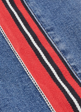 - ALEXANDER MCQUEEN - Stripe outseam skinny jeans