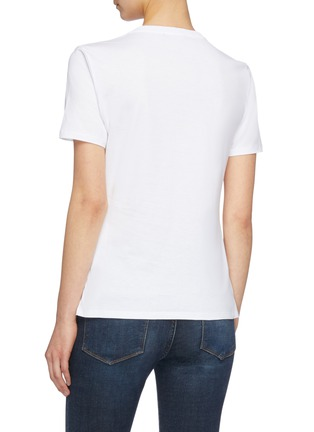 Back View - Click To Enlarge - Alexander McQueen - 'Still Life Shells' graphic print T-shirt