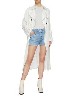 J Brand 'Gracie' frayed cuff denim shorts