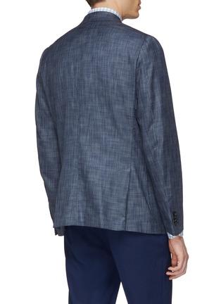 Back View - Click To Enlarge - ISAIA - 'Cortina' wool-silk blazer