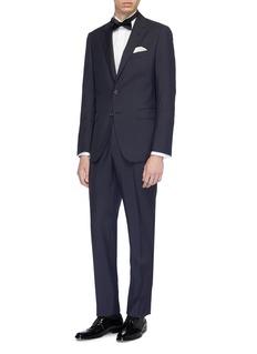 ISAIA 'Londra' wing tip collar tuxedo shirt