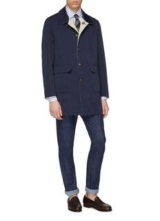 ISAIA Reversible water-repellent coat