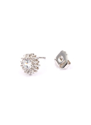 Detail View - Click To Enlarge - CZ by Kenneth Jay Lane - Cubic zirconia starburst stud earrings
