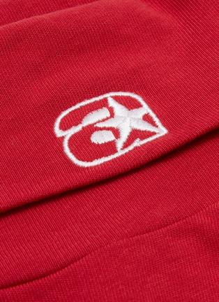 - ALEXANDERWANG - Logo embroidered oversized turtleneck long sleeve T-shirt