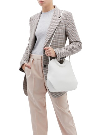 Front View - Click To Enlarge - COMPLÉT - 'Neomi' mini leather tote