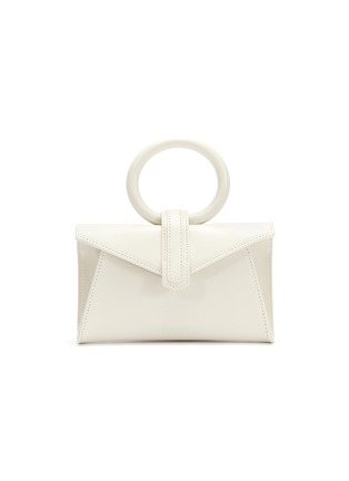 Main View - Click To Enlarge - COMPLÉT - 'Valery' micro leather envelope belt bag