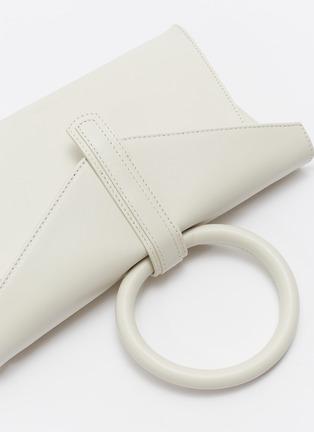 - COMPLÉT - 'Valery' ring handle mini leather envelope clutch