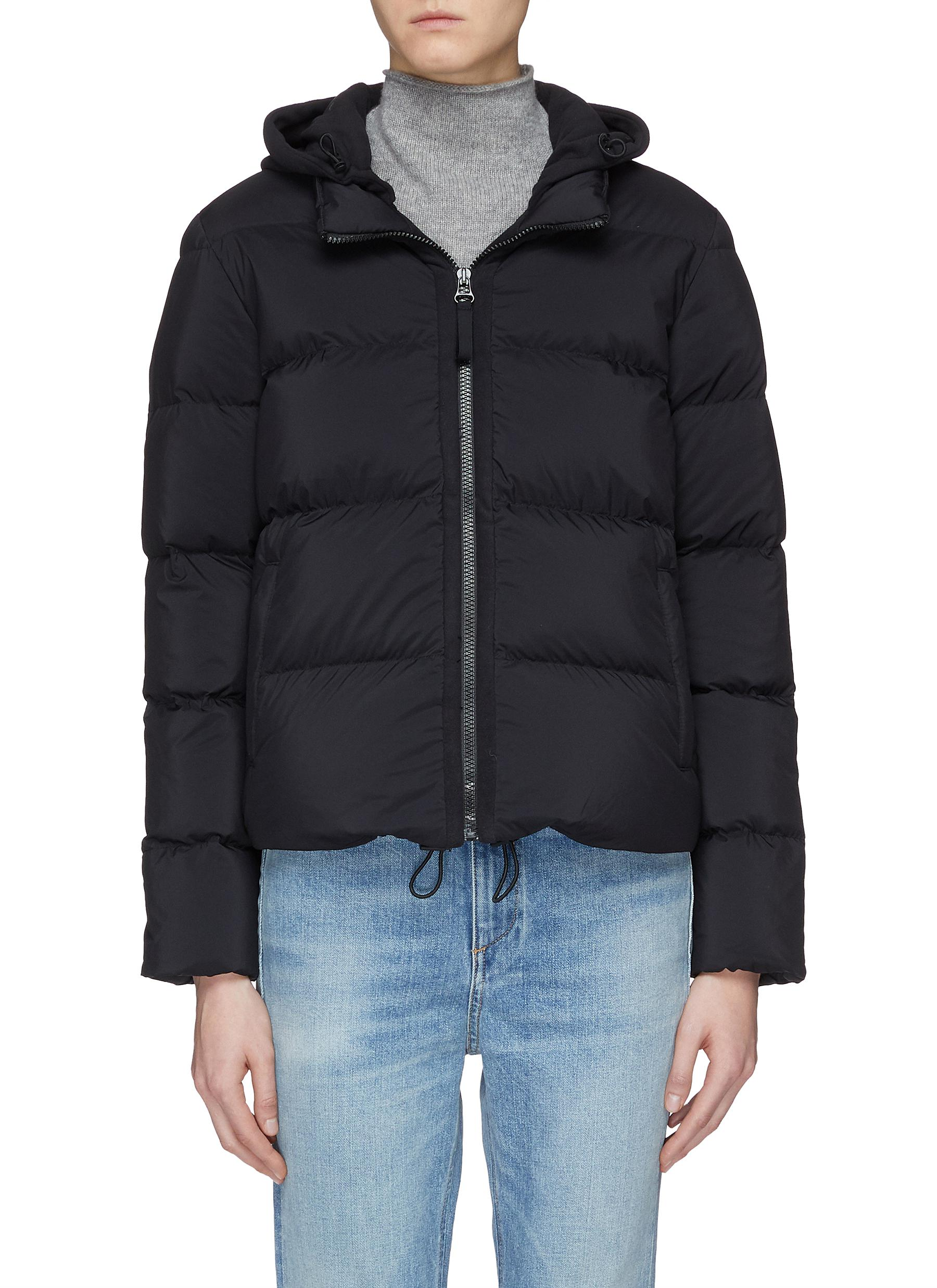 Cropped down puffer jacket by James Perse