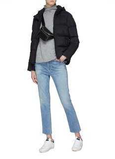 James Perse Cropped down puffer jacket