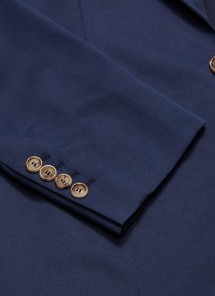 - Brunello Cucinelli - Wool-cotton soft blazer