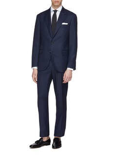 Brunello Cucinelli Virgin wool houndstooth suit