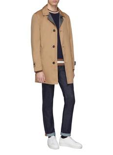 Brunello Cucinelli Reversible water-repellent twill coat