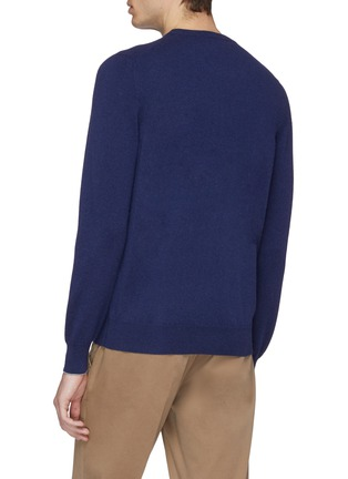Back View - Click To Enlarge - Brunello Cucinelli - Two-ply cashmere sweater