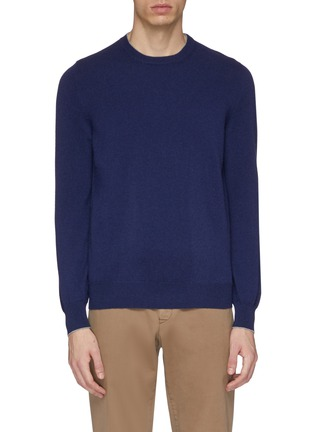 Main View - Click To Enlarge - Brunello Cucinelli - Two-ply cashmere sweater