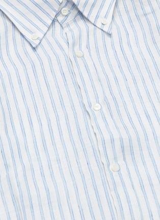 - Brunello Cucinelli - Stripe linen shirt
