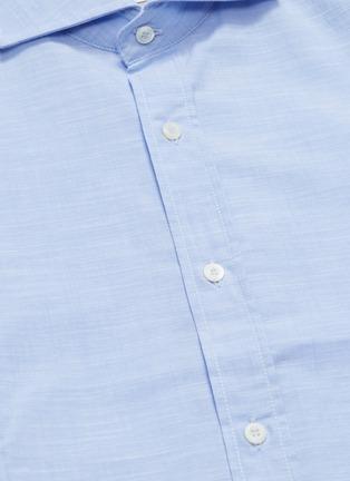 - BRUNELLO CUCINELLI - Marled shirt
