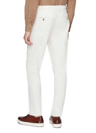 Back View - Click To Enlarge - Brunello Cucinelli - Twill chinos