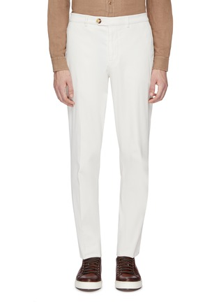 Main View - Click To Enlarge - Brunello Cucinelli - Twill chinos