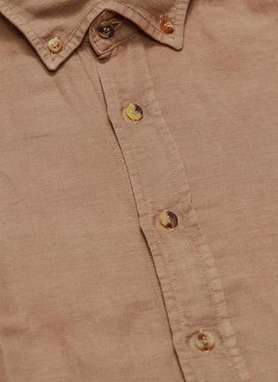 - Brunello Cucinelli - Linen-cotton shirt