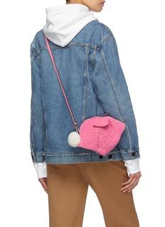 LOEWE 'Bunny' mini shearling bag