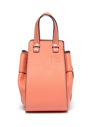 Main View - Click To Enlarge - LOEWE - 'Hammock Dw' mini leather bag