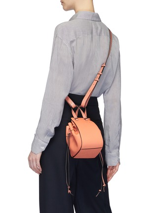 Figure View - Click To Enlarge - LOEWE - 'Hammock Dw' mini leather bag