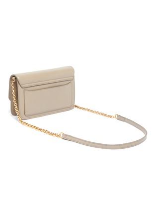 Detail View - Click To Enlarge - Chloé - 'Chloé C' suede panel mini leather shoulder bag