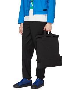 Moncler Genius x Craig Green roll top logo embossed backpack