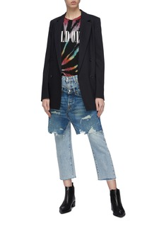 R13 Layered front jeans
