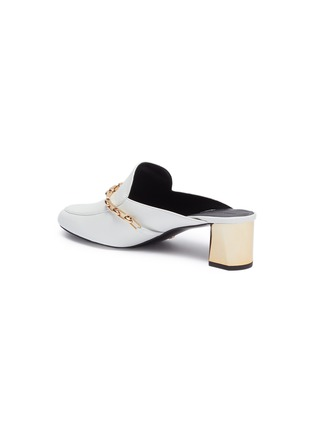 - Stella Luna - Chain strap leather mules