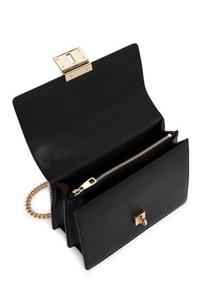 Detail View - Click To Enlarge - Dolce & Gabbana - 'Rosalia' medium leather shoulder bag