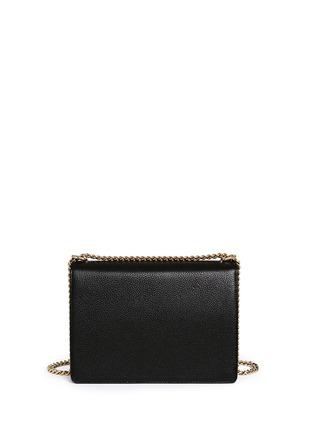 Back View - Click To Enlarge - Dolce & Gabbana - 'Rosalia' medium leather shoulder bag